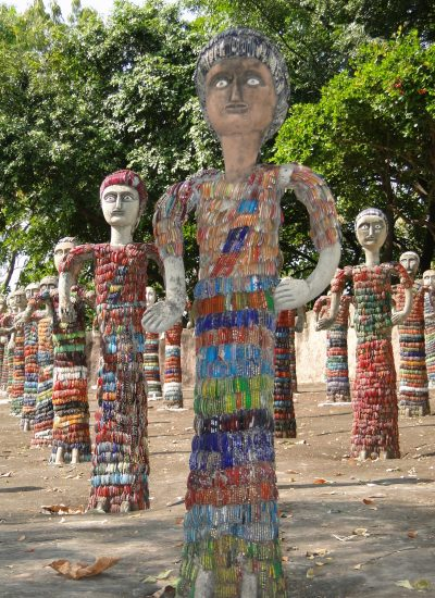waste sculpture